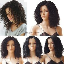 Lady Lace Front Wig Long Curly Wavy Synthetic Hair Full Head Wig Cosplay Party 0