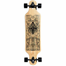 "Atom 40"" Bamboo Drop-Through Longboard"
