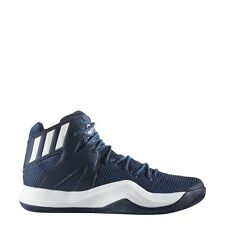 ADIDAS CRAZY BOUNCE MEN'S BASKETBALL SHOES (B72767) NAVY ***NEW***