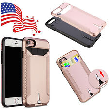 Slim Protective Credit Card Slot ID Holder Case Cover For Apple iPhone 5S/SE/5