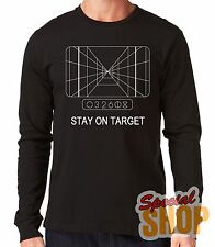 """LONG-SLEEVED T-SHIRT LONG""""STAR WARS-STAY ON TARGET""""LONG SLEEVE"""
