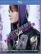 Justin Bieber: Never Say Never (Blu-ray Disc, 2013) BRAND NEW
