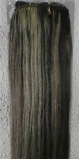 16''~26'' 60'' Wide 150g Weft Hair Weaving 100% Real Human Hair Extensions 2/613