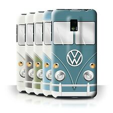 STUFF4 Back Case/Cover/Skin for LG Optimus 2X/P990/Retro T1 Camper Bus