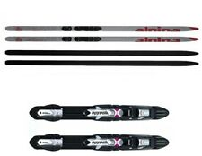 NEW ALPINA SKATE Women's SKATING XC cross country SKIS/BINDINGS PACKAGE - 180cm