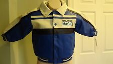 New NBA Toddler Orlando Magic Varsity Baseball-Style Jacket: Sizes 2T-4T
