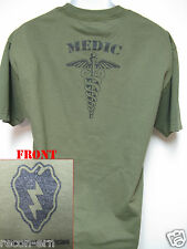 25th ID T-SHIRT/ MEDIC T-SHIRT/ COMBAT/ MILITARY /  NEW