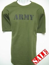 ARMY T-SHIRT/ MILITARY STYLE/ THICK SHIRT/ NEW
