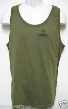 USMC FORCE RECON TANK TOP/ OD GREEN/ MILITARY / NEW