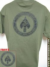 USMC MARSOC T-SHIRT/ MILITARY/ THICK/ USMC RECON/ SPECIAL FORCES/  NEW