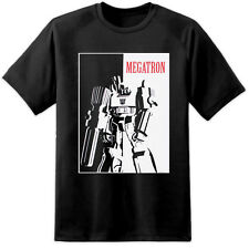 Mens TRANSFORMERS Scarface Megatron Decepticons T Shirt Autobots The Last Knight