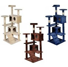 Cat Tree Tower Condo Furniture Scratch Post Kitty Pet House Toy New Quality +++