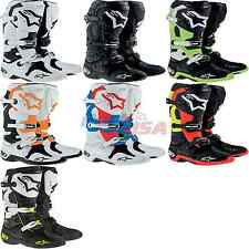 Alpinestars Tech 10 Boot Offroad Leather Solid CE-Certified