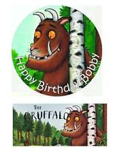 The Gruffalo Personalized Edible Cake toppers 7 Inch cupcakes Precut