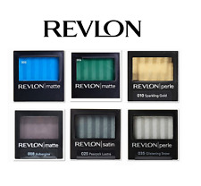 REVLON LUXURIOUS COLOR MATTE, SATIN, PERLE EYESHADOW CHOOSE YOUR COLOUR