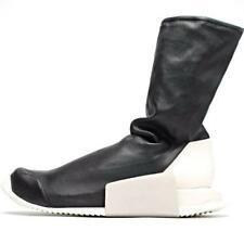 ADIDAS RICK OWENS LEVEL RUNNER HIGH SNEAKER BLACK size 6 7 8 9 10 runner drkshdw