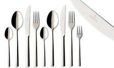 Villeroy & Boch Piemont Cutlery Set Stainless Steel Polished - 24, 30, 48, 60 Pc