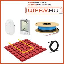 120V Electrical Radiant Floor Heating Cable Kit + Prodesso Membrane