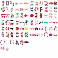 Gymboree Girls Hair Clips Headbands Pony Holders Bows Barrettes Birthday NWT New