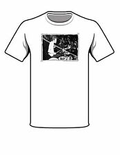 Ginger Baker #1 -T-Shirts Vintage Drum Companies ( Limited Edition-Hand Made )