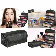 2 Colors Toiletry Bag Makeup Case Tool Travel Pouch Wall Hang Cosmetic Organizer