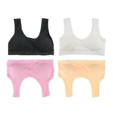 Nice Sexy Cozy Seamless Sports Leisure Boob Tube Top Bra Support Vest Nude Yoga