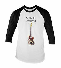Sonic Youth Unisex Baseball T-Shirt All Sizes