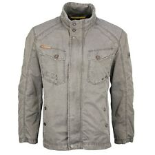 Camel active Men's Between season Bomber Jacket grey 5-19 430330 05