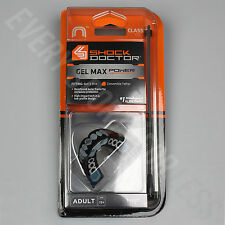 Shock Doctor Gel Max Power Convertible Mouthguard - Fangs (NEW)