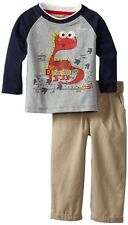 KIDS HEADQUARTERS Boy's 12, 18 OR 24 Months BABY DINOSAUR Outfit, Set, NEW