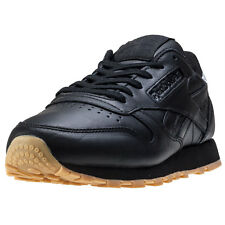 Reebok Cl Met Diamond Womens Trainers Black Gum New Shoes