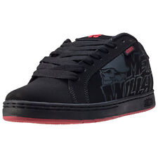 Etnies Metal Mulisha Fader Mens Trainers Black Red New Shoes