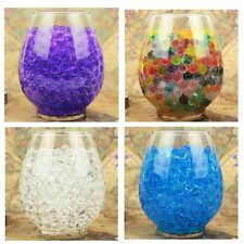 5000 pcs Magic Water Pearls Gel Beads Balls Plant Flower Jelly Crystal Soil Mud