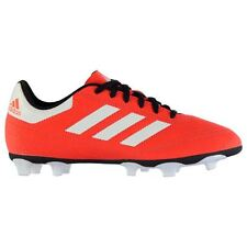 adidas Childrens Goletto FG Football Boots Boys Laces Fastened Shoes Footwear