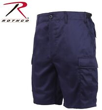 NAVY BLUE EMT & POLICE Military BDU Combat Cargo Shorts Poly/Cotton 65209