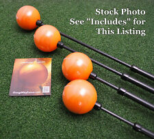 Orange Whip Swing Trainer Golf Practice Aid Choose Full MidSize Compact Jr NEW