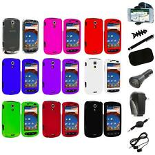 Color Hard Snap-On Case Cover+8X Accessory for Samsung Epic 4G Phone Accessory