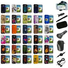 For Samsung Galaxy S4 i9500 Hard Case Design Snap-On Cover+8X Accessory