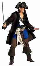Costumes! Jack Sparrow Pirates of the Caribbean Costume Set Theater Quality