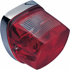 Chris Products Taillight Assembly for Harley-Davidson CH8048 Dual Rear Red Lens