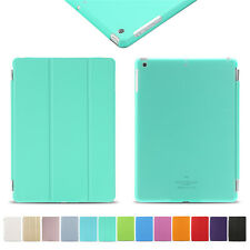 Ultra Thin Magnetic Smart Cover + Back Case For  Apple iPad 234/mini/Air+Stylus