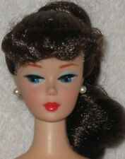 VINTAGE BARBIE REPRO/REPRODUCTION-BRUNETTE PONYTAIL-NUDE-MINT