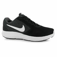 Nike Revolution 3 Running Shoes Womens Grey/White Run Fitness Trainers Sneakers