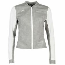 adidas London Marathon 2016 Running Jacket Womens White Track Top Sportswear