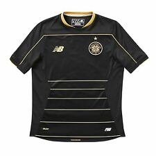 New Balance Celtic FC Away Jersey 2016 2017 Juniors Black Football Soccer Shirt