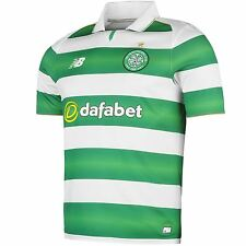 New Balance Celtic FC Home Jersey 2016 2017 Mens Green/White Football Soccer Top