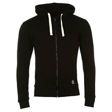 Jilted Generation Skinny Full Zip Hoody Mens Black Hoodie Sweatshirt Jacket