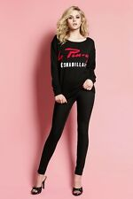 WHEELS AND DOLLBABY OVERSIZED SWEATER LA PIN UP