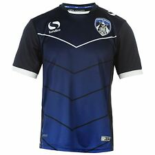 Sondico Oldham Athletic FC Prematch Jersey Juniors Navy Shirt Football Soccer