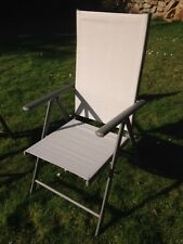 Garden Chairs - Multi Position Textoline Recliner Chairs - Weatherproof